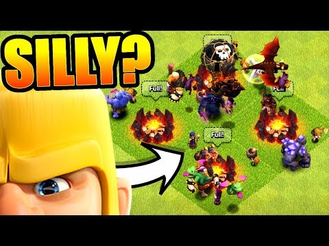 EVERY SINGLE TROOP ATTACK STRATEGY!..IS THIS SILLY!? - Clash Of Clans