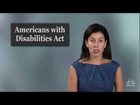 Employment Law: The Americans with Disabilities Act