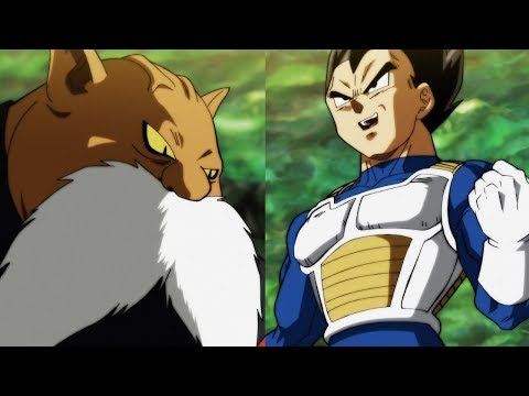 Thumbnail: VEGETA vs TOPPO HYPE!!! Dragon Ball Super Episode 112 Review
