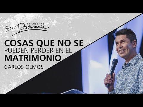 Cosas que no se pueden perder en el matrimonio - Carlos Olmos - 7 Enero 2018
