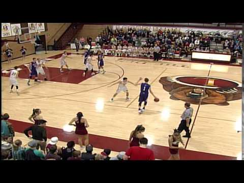 Box Elder High School at Logan High School basketball game 1-14-15