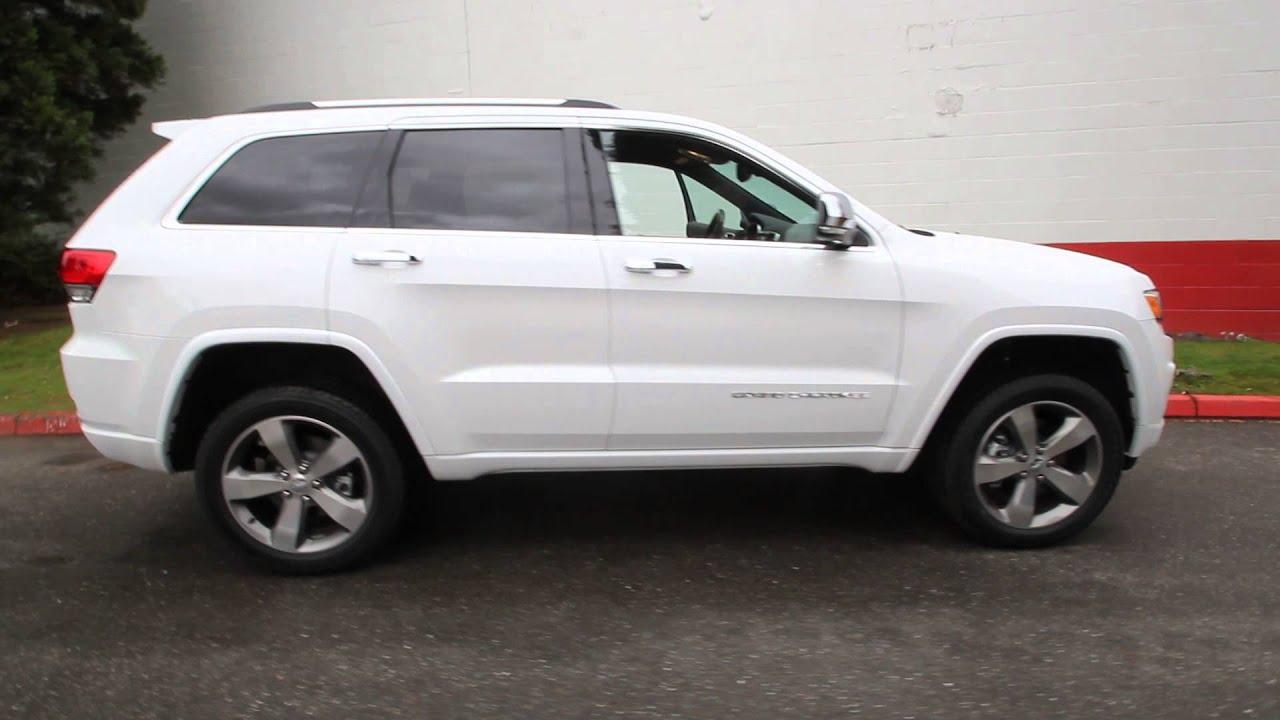 2014 Jeep Grand Cherokee Overland 5 7l V8 White