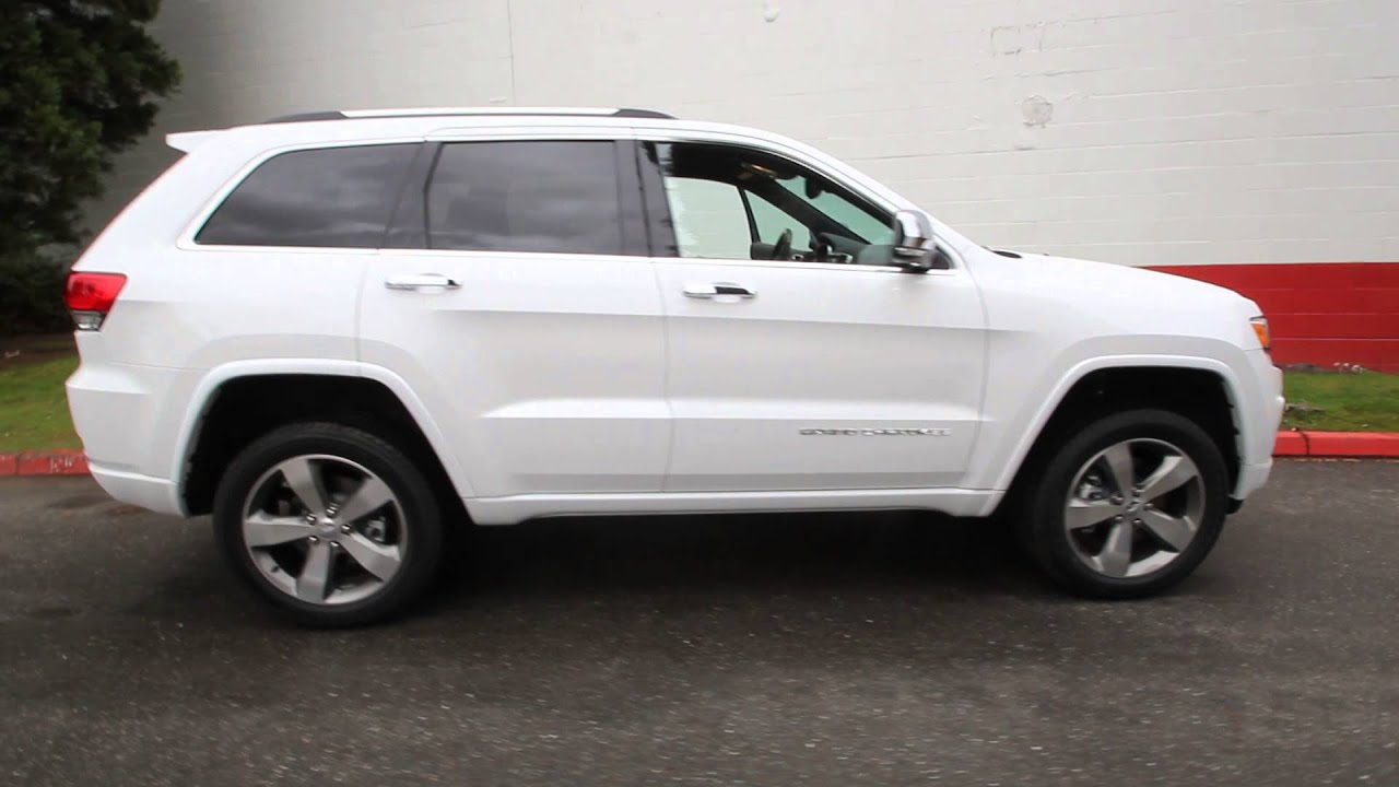2014 Jeep Grand Cherokee Overland 5 7l V8 White Ec351227 Seattle Bellevue Youtube