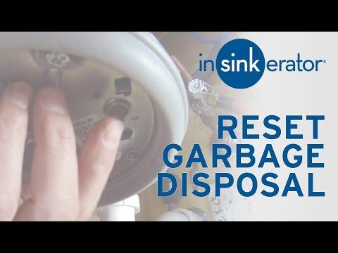 How to Reset Garbage Disposal - InSinkErator