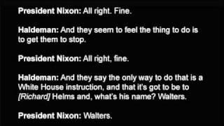 Nixon: raw watergate tape: