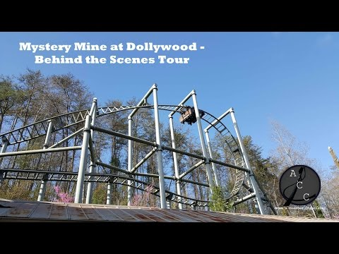Mystery Mine at Dollywood   Behind the Scenes Tour