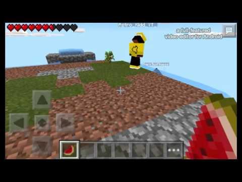 Minecraft PE Stupid Skyblock Moments