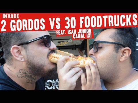Feira de Food Truck e Cerveja Artesanal Feat Isau Canal IXI | Invade | #MiniCozinha