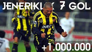 Fenerbahçe Tarihinde Atılmış Jeneriklik 7 Gol ! ●   Deivid Kaleye Şut ve Gol !   ᴴᴰ