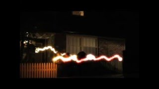 light trails long exposure photography effect