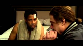 Denzel Washington FLIGHT best scene cocaine
