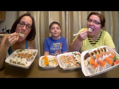 Sushi Extravaganza | Gay Family Mukbang (먹방) - Eating Show