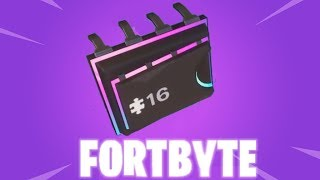 #FORTBYTE 16 - FOUND IN A DESERT HOUSE WITH TOO MANY CHAIRS - Fortnite short guide