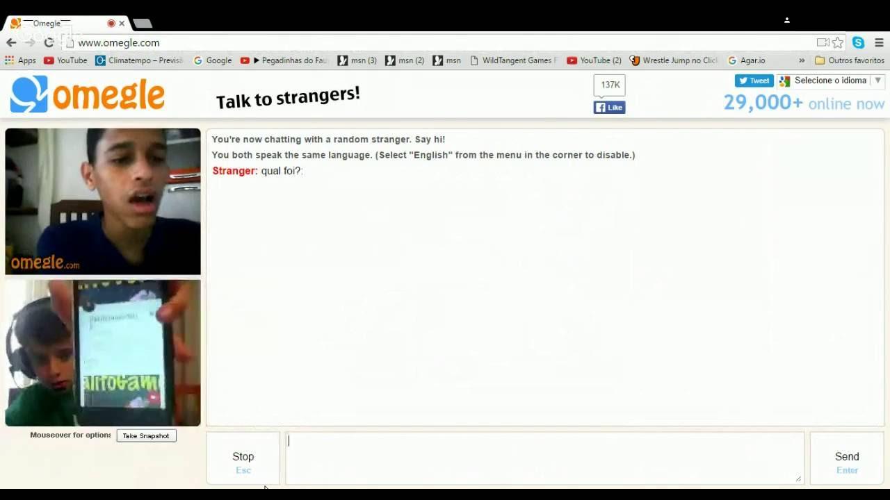 Live de Omegle #2 #LIVESTREAM - YouTube