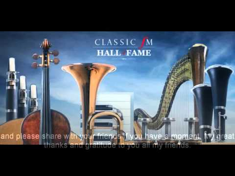 Classic FM Hall of Fame 2016