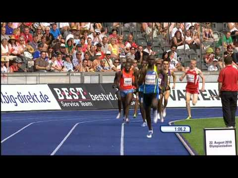 David Rudisha 1:41.09 World Record in Berlin - HQ