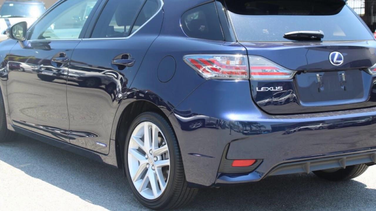2016 Lexus Ct200h Zwa10r My16 Sports Luxury Deep Blue 1 Sd Constant Variable Hatchback Hybrid
