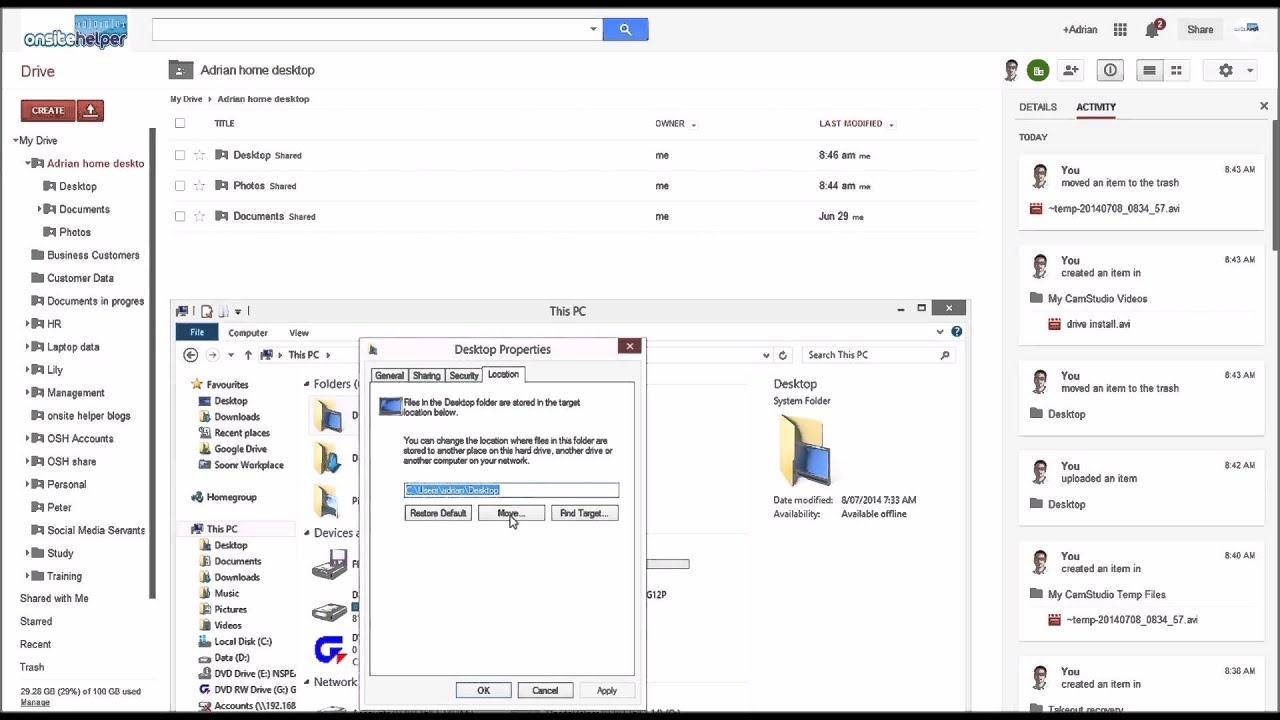 Use google drive to backup your computer youtube use google drive to backup your computer ccuart Gallery