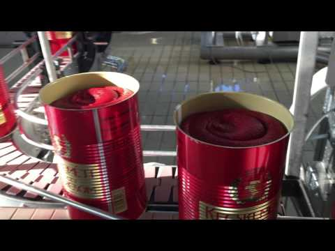 Canned Tomato Paste Filling Machine - Carlo Migliavacca - Parma - Italy