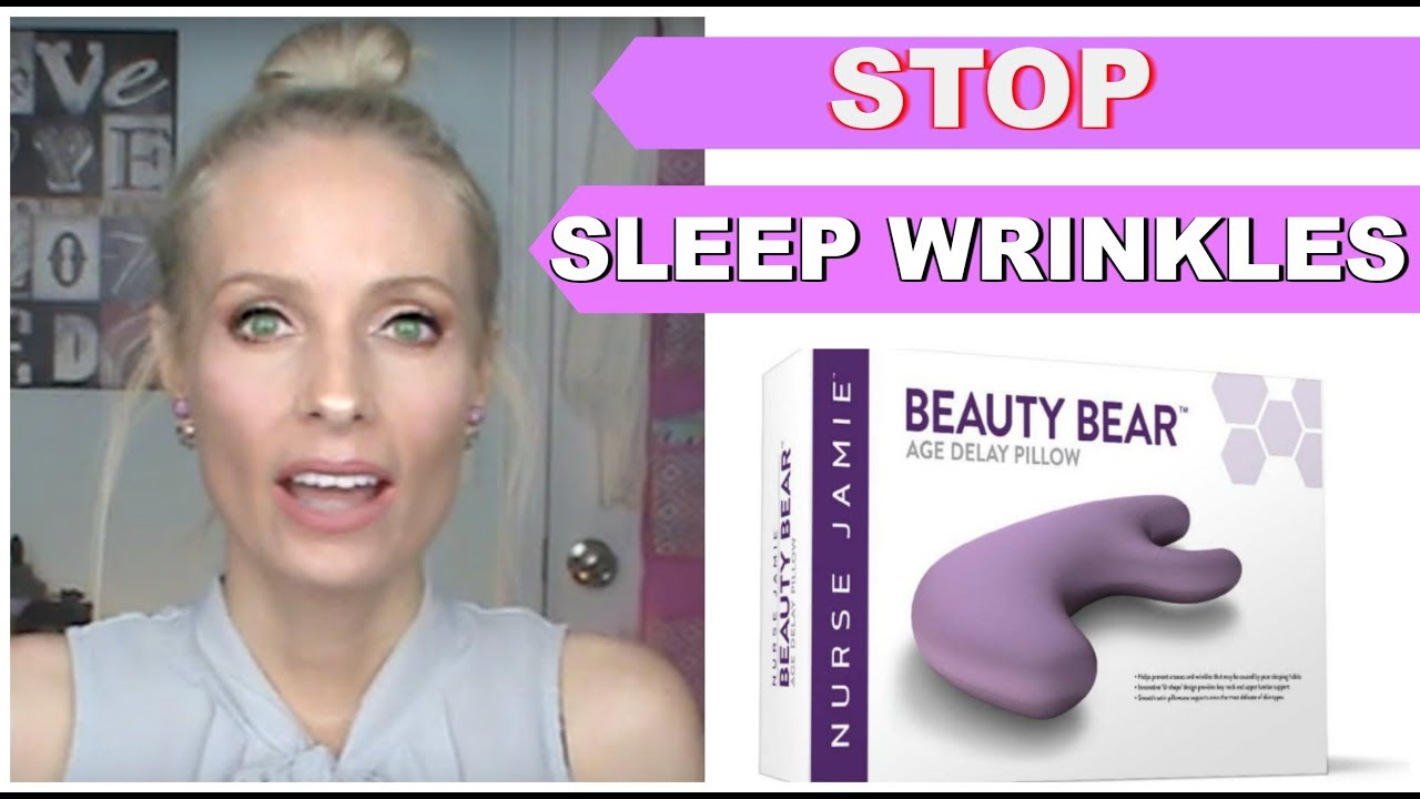 how to prevent sleep wrinkles beauty bear age delay pillow anti aging over 40