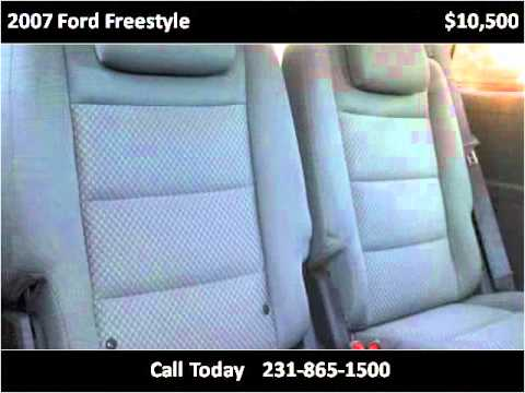 2007 Ford Freestyle Used Cars Muskegon MI