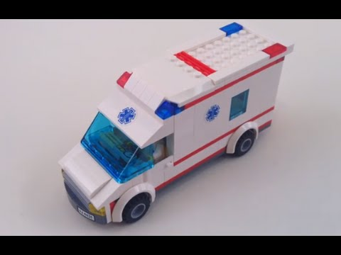 Lego Ambulance Custom Moc Youtube