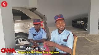 Broda Shaggi will take 55, 000 Naira just to live Nigeria and not come back