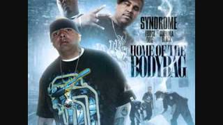 SYNDROME FT FUDGE DOG N GUERILLA BLACK  (HOME OF THE BODYBAG)