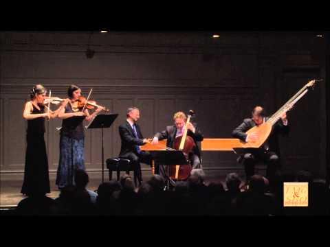 Rossi: Sonata sopra la Bergamasca (Venice, 1622) for two violins and continuo