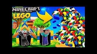 BÉ BỐNG CHƠI LẮP NGÔI NHÀ TỪ ĐỒ CHƠI LEGO - BONG KEM TV - LEGO TOYS