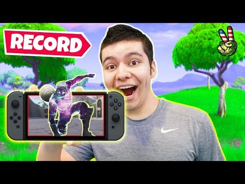 HOW TO RECORD FORTNITE ON NINTENDO SWITCH!