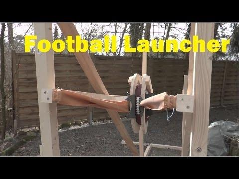football machine gun drill