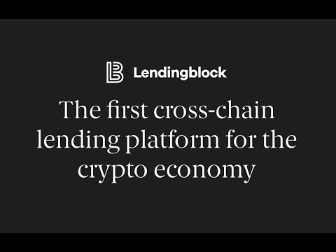 Token of the Week: LendingBlock LND (Crypto To Crypto Loans). Best Institutional Crypto Project?