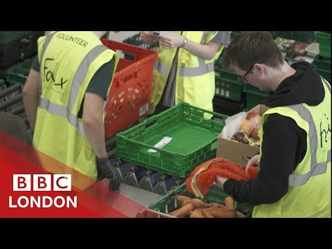Using food waste to ease holiday hunger BBC London