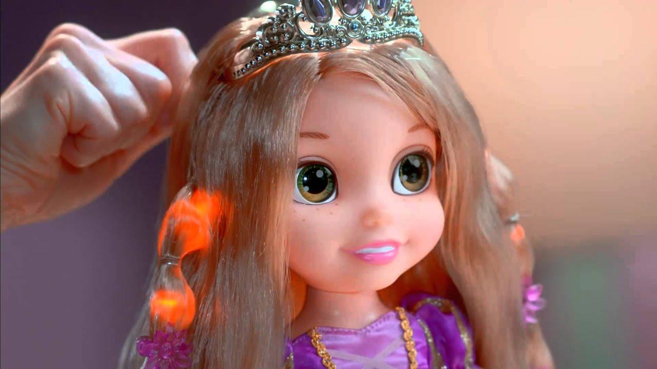 Smyths Toys Hair Glow Rapunzel Doll