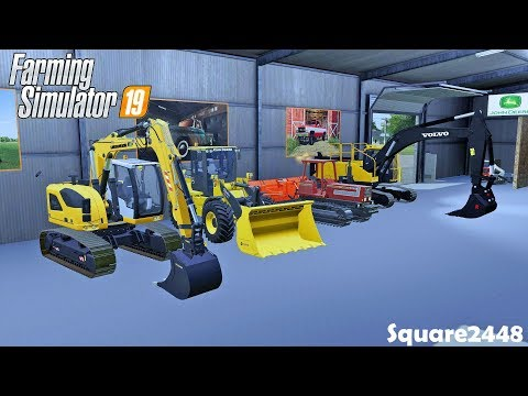 moving-into-new-shop-|-construction-series-|-new-trucks-|-farming-simulator-19