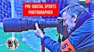 Pre-digital sports photographer - award-winning Mail photographer Ted Blackbrow