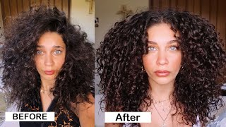 10 Hacks for FRIZZ FREE Curly Hair - Detailed | Jayme Jo