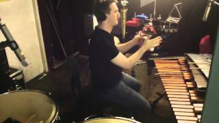 Percussion Pit Cam - Sister Act, The Lowry Manchester 2015