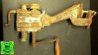 Restoration of vintage bead roller tool