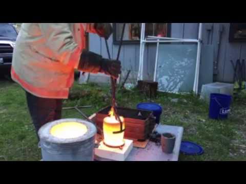 Iron Casting #001 - Lost Foam Mortar & Pestle Project