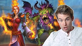 (Hearthstone) Ridiculous Shudderwock Archivist Nonsense