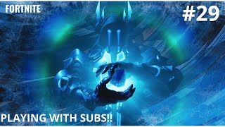 Fortnite battle Royale | Playing with Subs | Sub Goal [289-300]