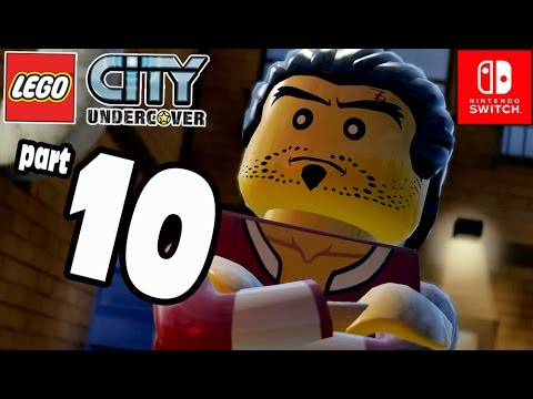 LEGO City Undercover COOP Part 10 Mr Chans Driver Nintendo Switch) Gameplay
