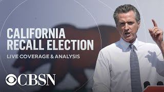 California recall election coverage and analysis | full video
