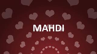HAPPY BIRTHDAY MAHDI