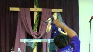 WOVIII Ladies Conference Worship Saturday - First lady Andrastea Griffin