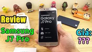 Mở hộp điện thoại Samsung Galaxy J7 Pro, cái giá khó tin