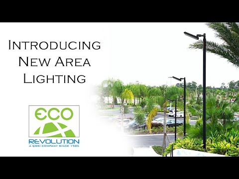 Linear LED Area Lighting from Eco-Revolution
