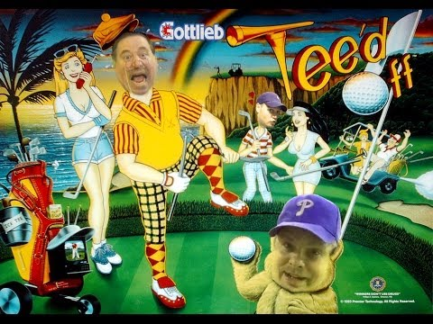#670 Gottlieb TEED OFF Pinball Machine with GOLF Theme! TNT Amusements